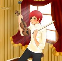 Violinist by Evrylynn