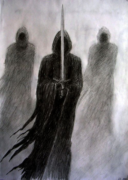 The Nazgul. by IreneLangholm