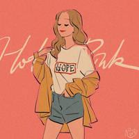 Hot Pink Girl by yohansongart