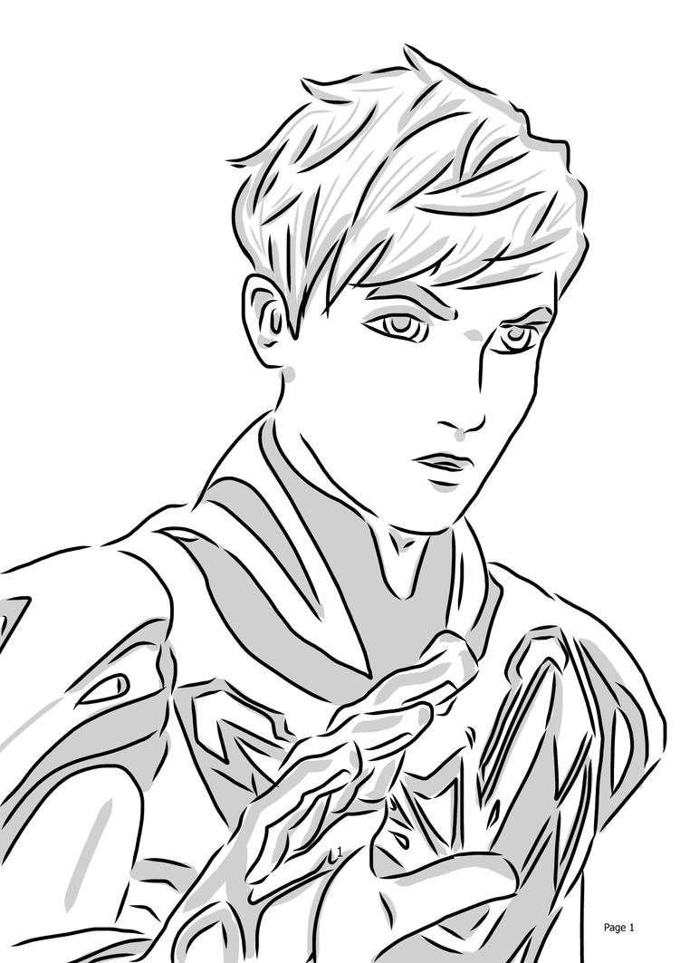Max Steel Coloring Pages Turbo Speed - Honda CR-V (2012)