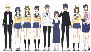 THE CORPSE PARTY GANG