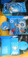 Sonic Riders Wallet Bootleg