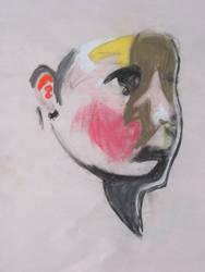 color block face 2 by cadokun