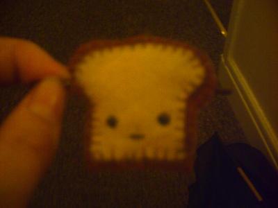 Toast hair Clips. by Moob-Milk-Inc