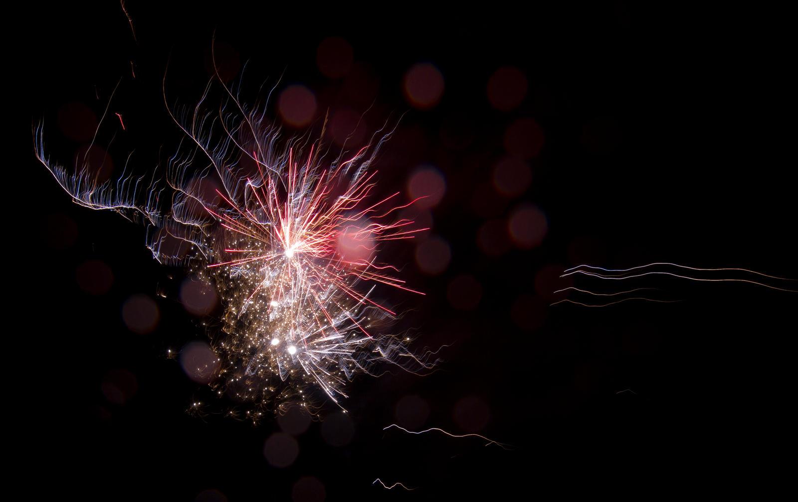 Garden fireworks by OPrwtos