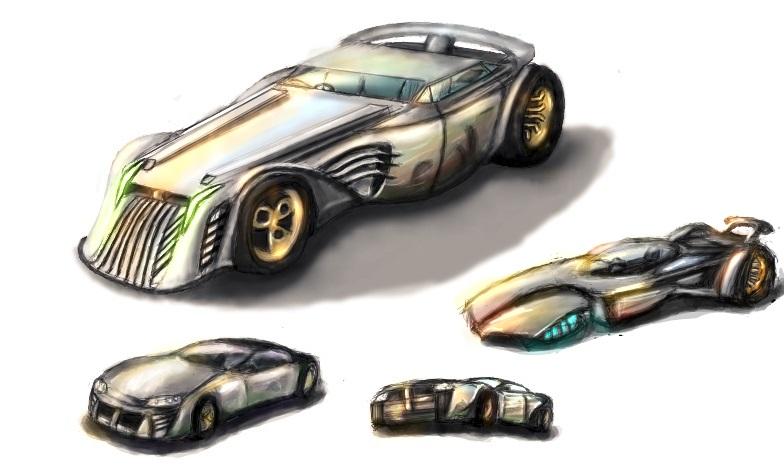 Car designs by OPrwtos