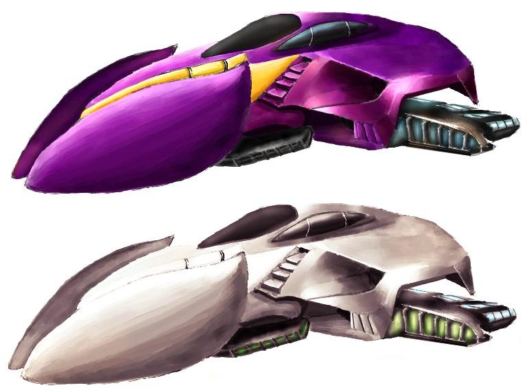 Sci-fi Car by OPrwtos