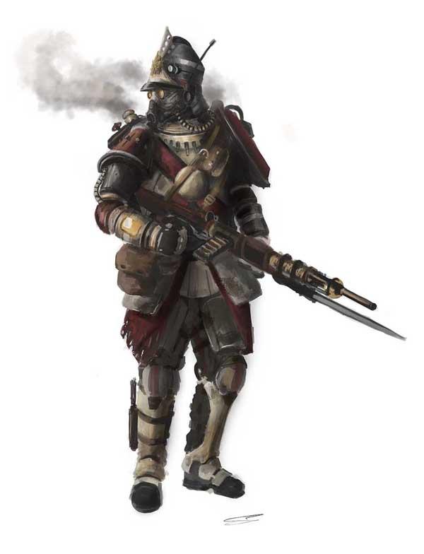 Steampunk Rifleman