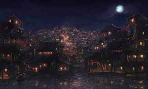 Village Slum by tantaku