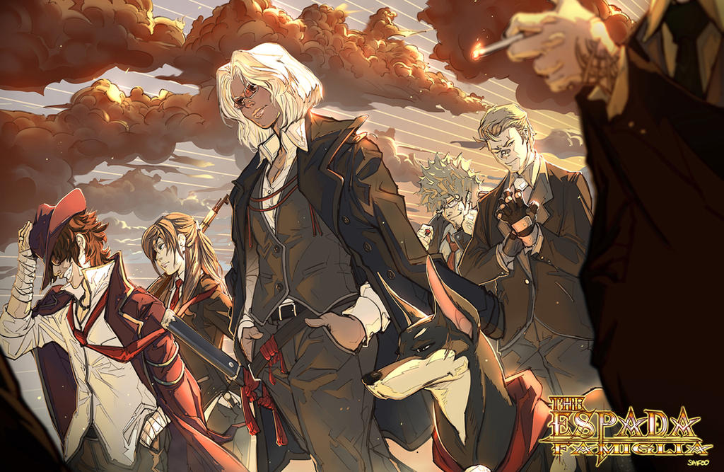 The Espada's by tantaku