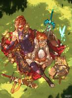 Hyrulean warrior Mother~ by tantaku