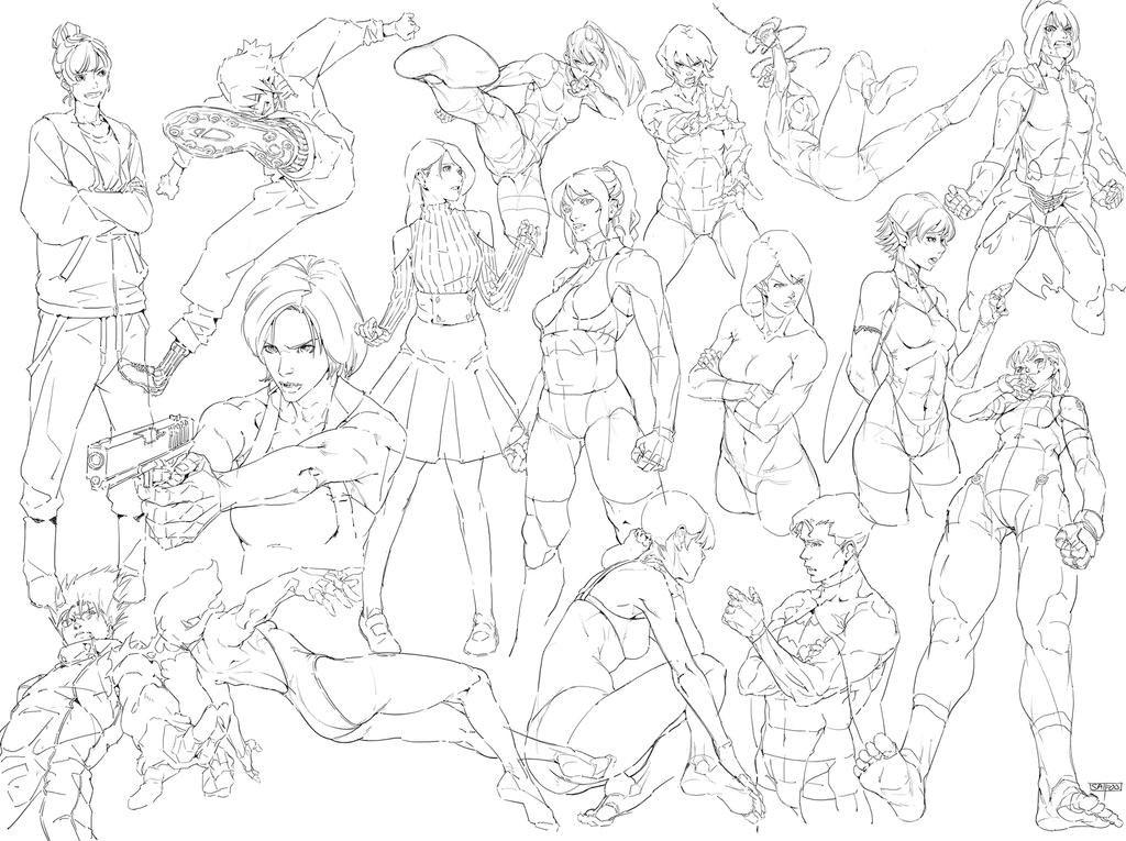 2019 sketch 1 by tantaku