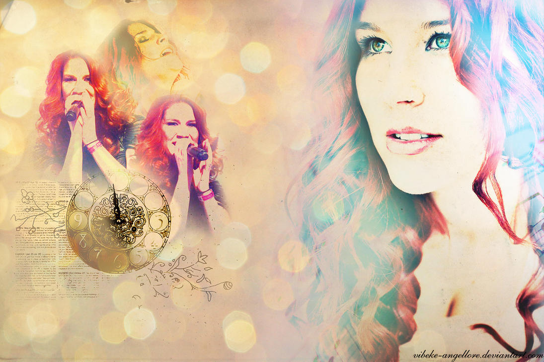 Charlotte Wessels (Delain) by Vibeke-Angellore