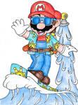 Surfer Mario Sunshine