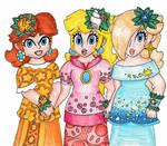 Peach, Daisy and Rosalina- Island Tour