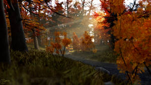Golden October by Linwelly