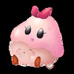 Kirby and Chuchu