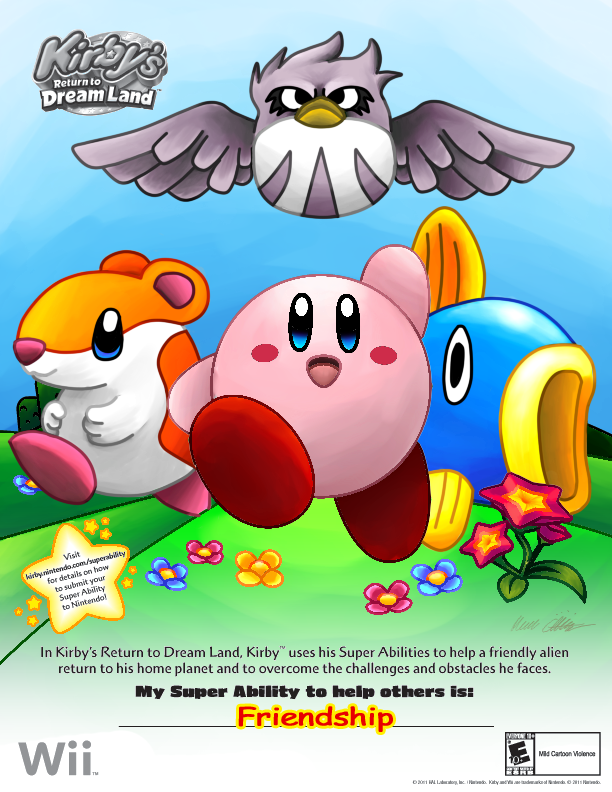 Kirby Super Ability Entry by SillyEwe