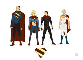Superman Family Redesign by Barney90