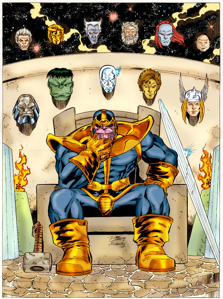 The Time Lords (Doctor Who) Vs Thanos (Marvel ...