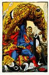 superman vs fantastic four
