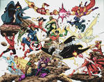 marvel avengers 80s versus dc titans  80s