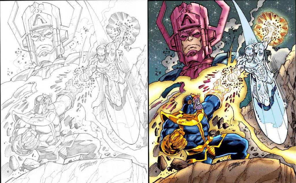 galactus vs thanos - photo #25