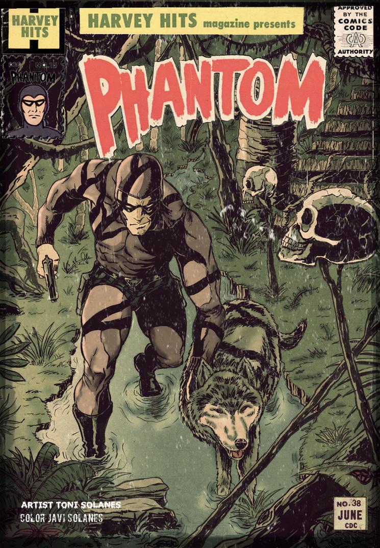 phantom old cover by namorsubmariner