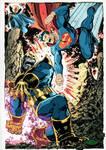thanos vs superman rebirth ?