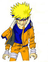 Kyuubi Naruto-colored-renewed by ToraKage-BlackLight