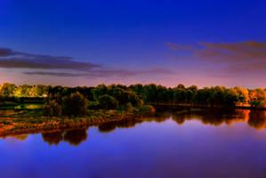 Lake at Nite by Free-StyL3