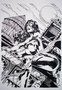 Spider Woman Inked