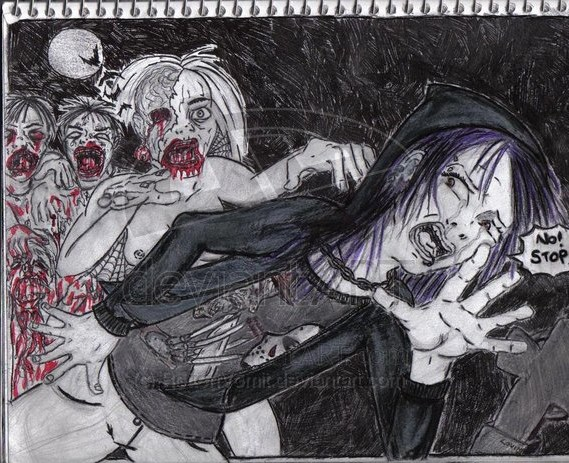Zombies by LovinaYavari