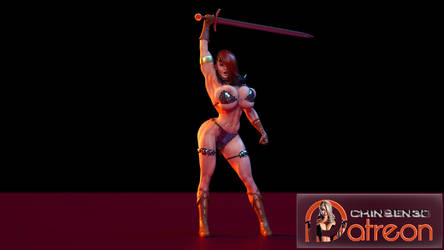 Cosplay - Valkyria as Red Sonja