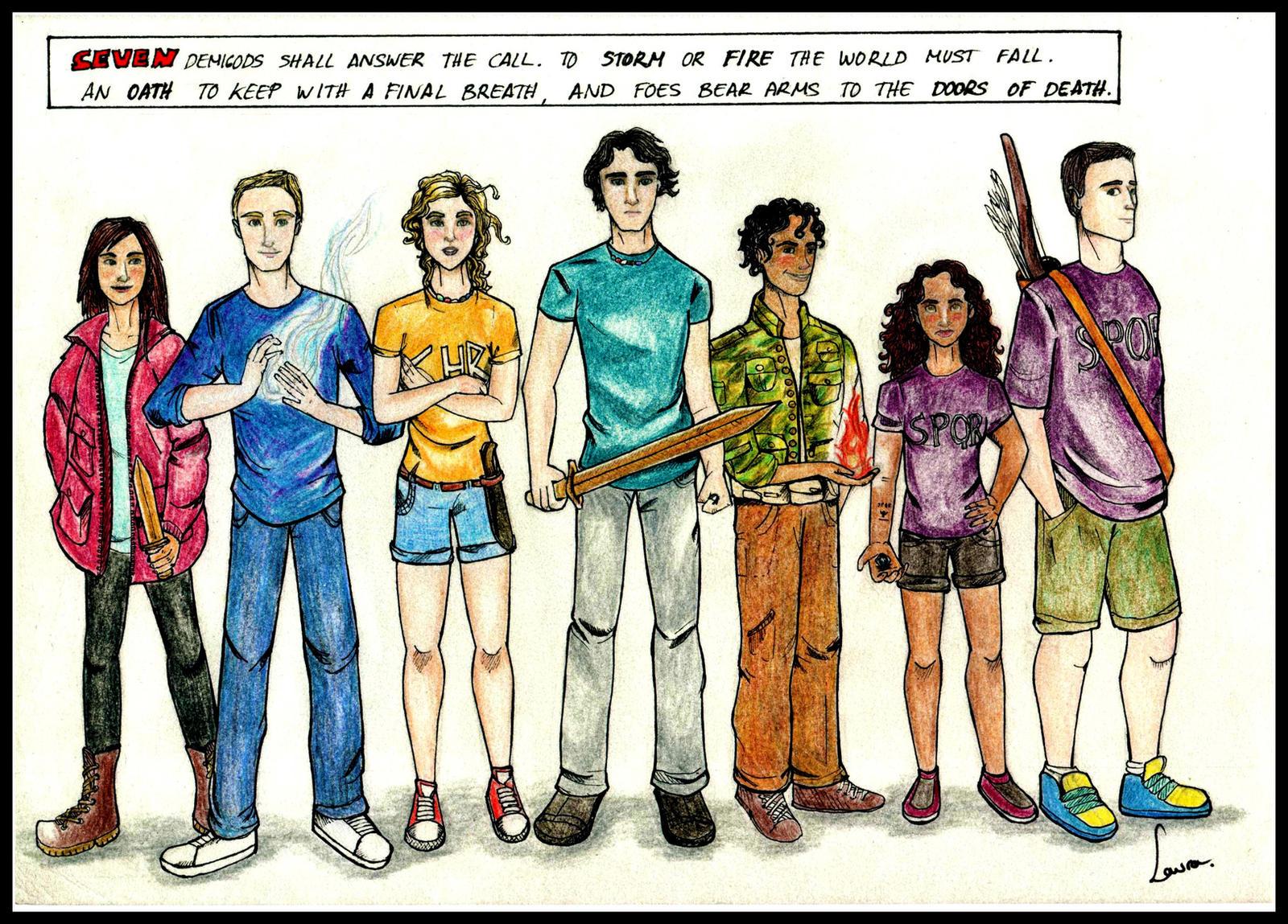 The Heroes of Olympus by EowynLaurelin on DeviantArt
