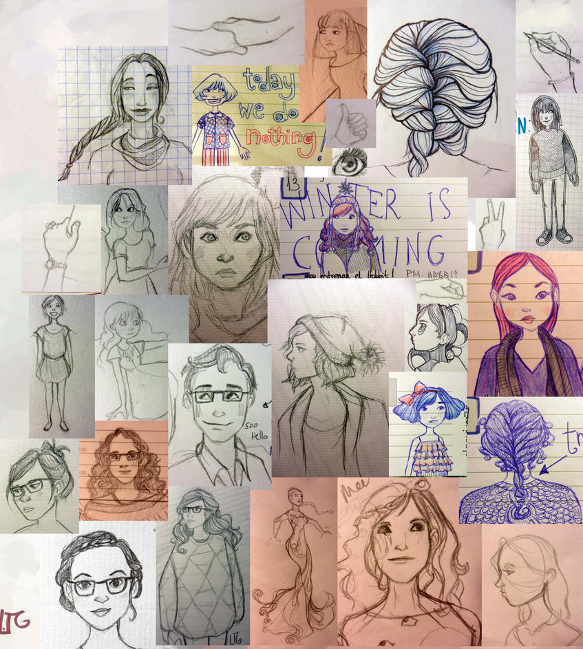 sketchdump I by EowynLaurelin