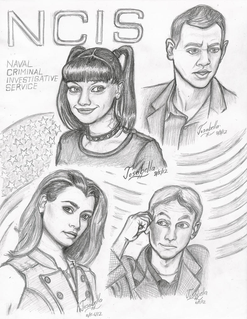 NCIS - Main Characters by Josabella