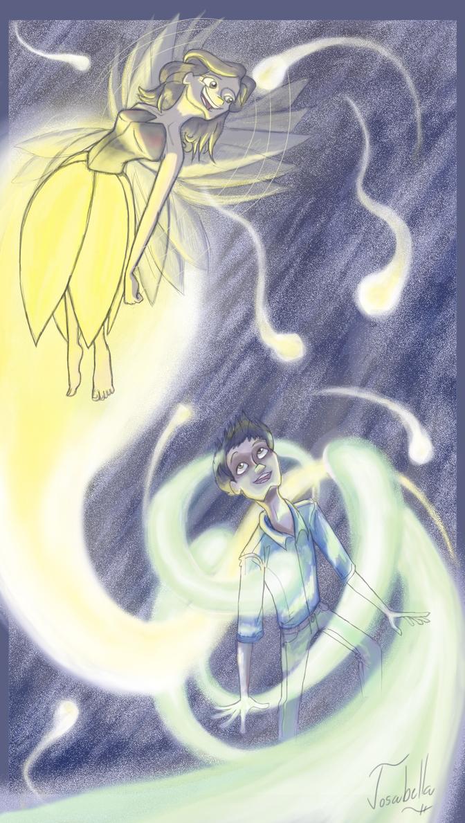 Fireflies in Dresses by Josabella