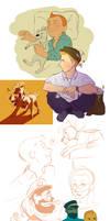 Large Tintin Dump