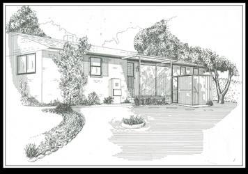 my house by cfitzart