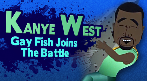Kanye West is a Gay Fish - Towleroad