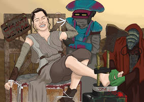 Rey Tickle-Punished (Star Wars Ep.7)