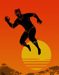 Black Panther by MalbonDesigns