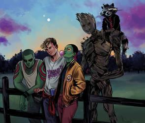 Teenage Guardians of the Galaxy