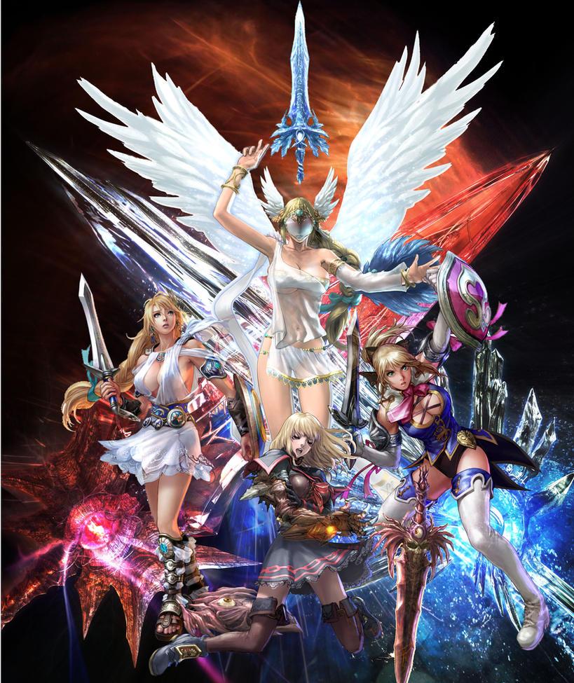 Warriors Orochi 4 Soul Calibur: Soul Calibur Alexandra Girls By Vuviper On DeviantArt