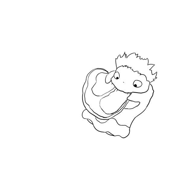 ponyo coloring pages - ponyo ponyo line art by yunnybun on deviantart