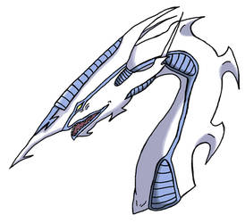 Stardust Dragon by Silver-Fenril