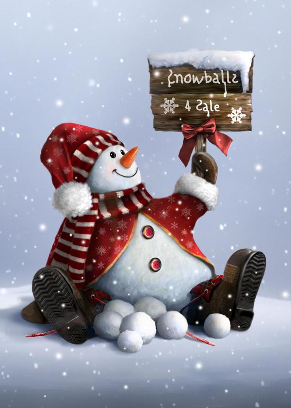 Snowballs 4 Sale by Tammara