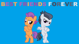 Rumble and Tender Taps Best Friends Forever by JawsandGumballFan24