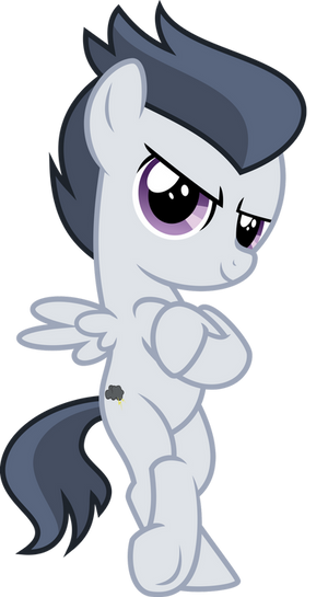 Rumble With His Cutie Mark